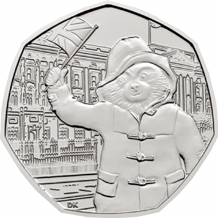 2018 Paddington Buckingham Palace  50p Uncirculated